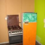 gasfornuis/oven en koelkastDeze koelkast is inmiddels vernieuwd