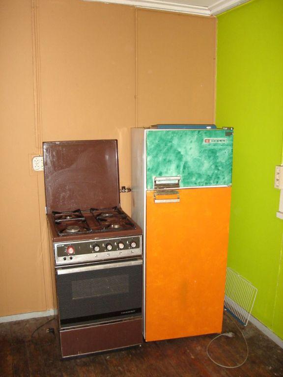 gasfornuis/oven en koelkast Deze koelkast is inmiddels vernieuwd